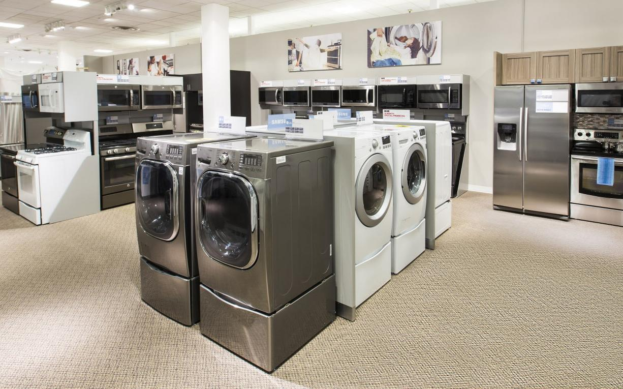 Shop at TA Appliances for outstanding service and everyday low prices on our giant selection of major appliances, barbecues, and vacuums. We carry all the brand names you trust. Browse our huge showrooms in Mississauga, Kitchener, Brantford, Barrie, or our clearance center in Toronto. When you are ready, our friendly, knowledgeable sales staff will assist you in choosing the right products for.