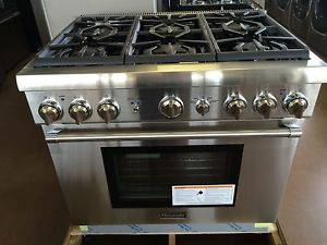 Thermador 36 Inch Pro Harmony Series Gas Range With
