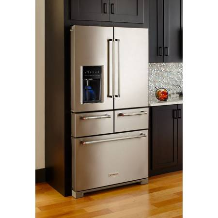 kitchenaid 5 door double drawer kitchenaid 26u20335 door french refrigerator stainless new made appliance outlet
