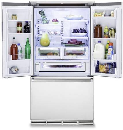 Viking 36 Inch Counter Depth French Door Refrigerator New