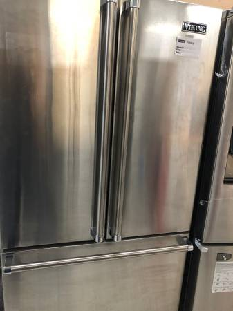 Viking 36 Inch Counter Depth French Door Refrigerator New