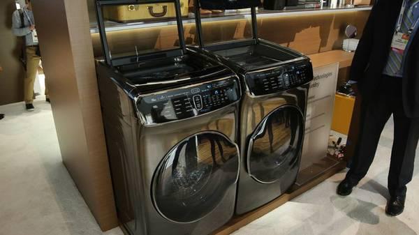 Samsung 6 0 Cuft Steam Flex Wash 7 5 Cuft Steam Flex Dryer