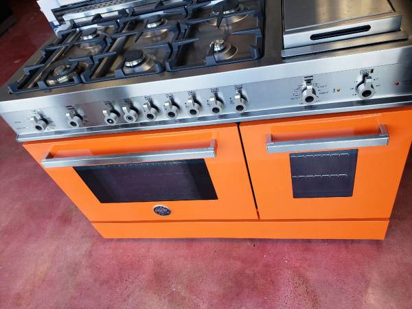 Bertazzoni 48 Inches Pro Style Dual Fuel Range Made